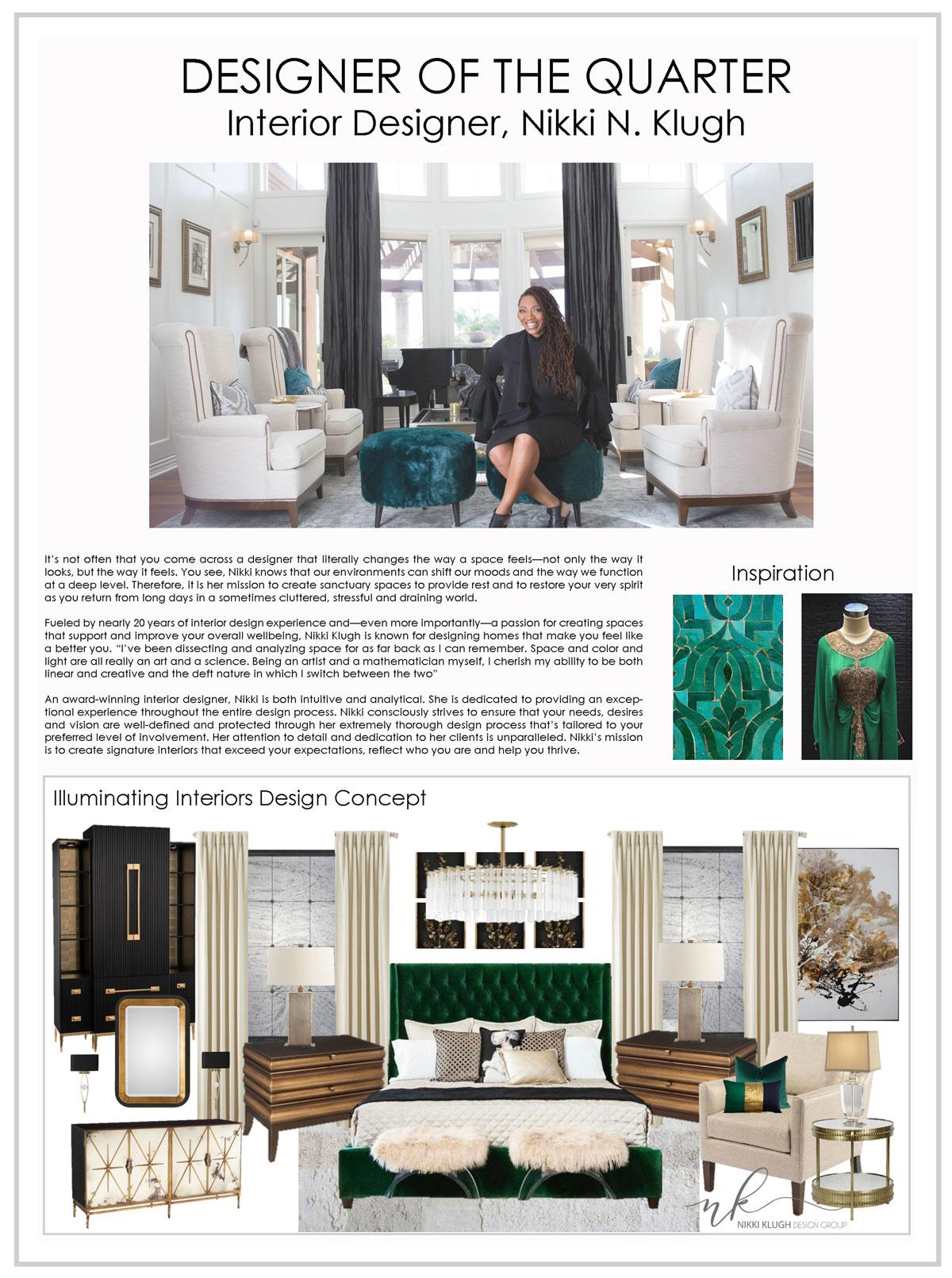 Nikki Klugh Designer's Quarters